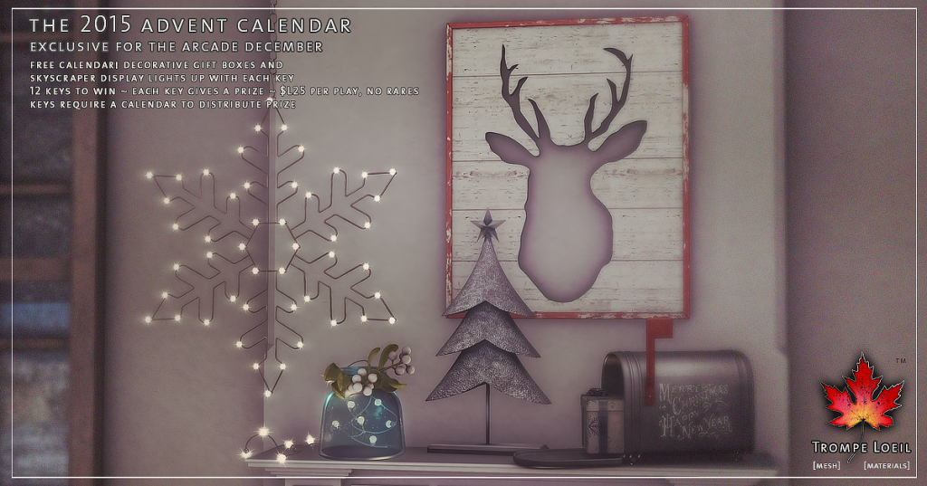 Trompe Loeil - The 2015 Advent Calendar for The Arcade December 05