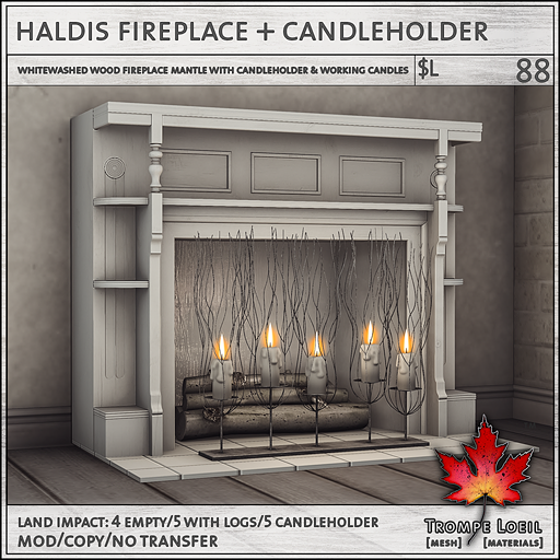 haldis fireplace sales L88