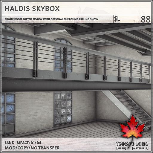 haldis skybox sales L88