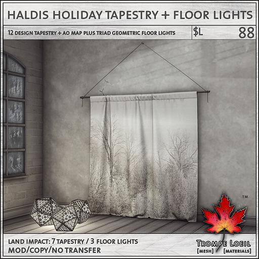 haldis tapestry sales L88