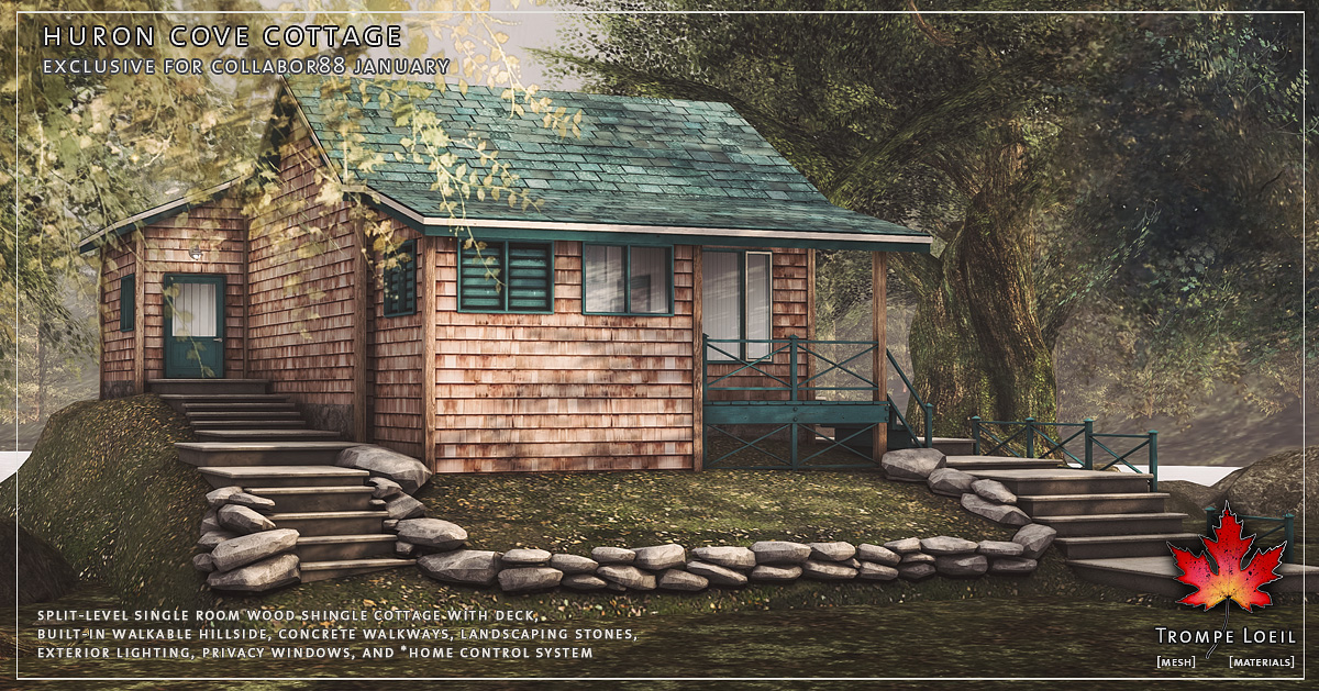 Huron Cove Cottage for Collabor88 January