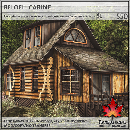 beloeil cabine sales L550