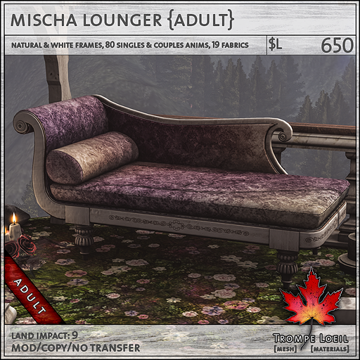 mischa lounger Adult L650