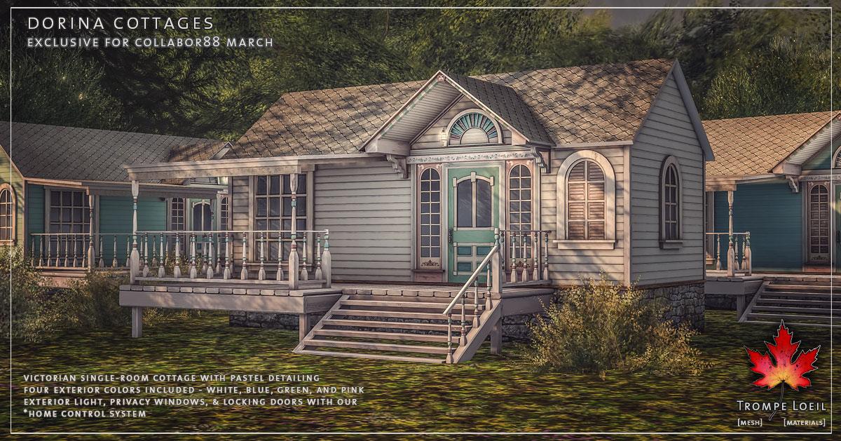 Dorina Cottages & Dorina Outdoor Hangout for Collabor88 March