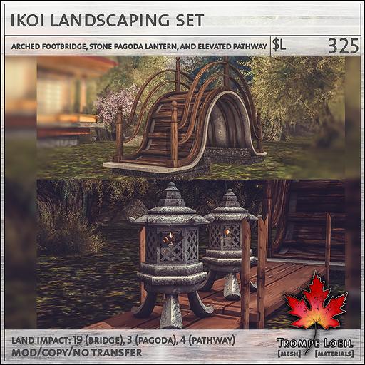 Ikoi Landscaping sales L325