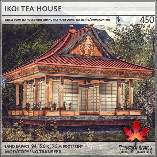 Ikoi Tea House sales L450