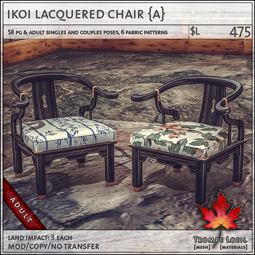 Ikoi lac chair Adult L475