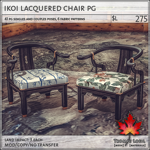 Ikoi lac chair PG L275