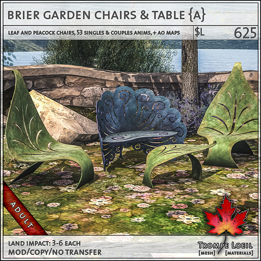 breir garden chairs Adult L625