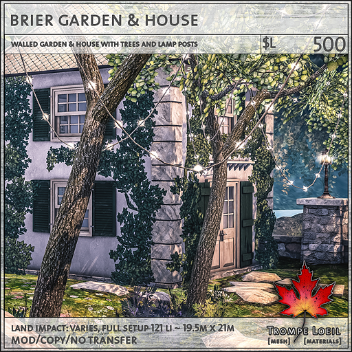 brier garden and house L500