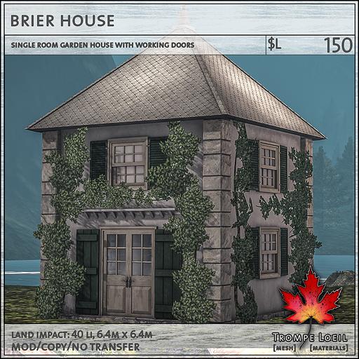 brier garden house L150