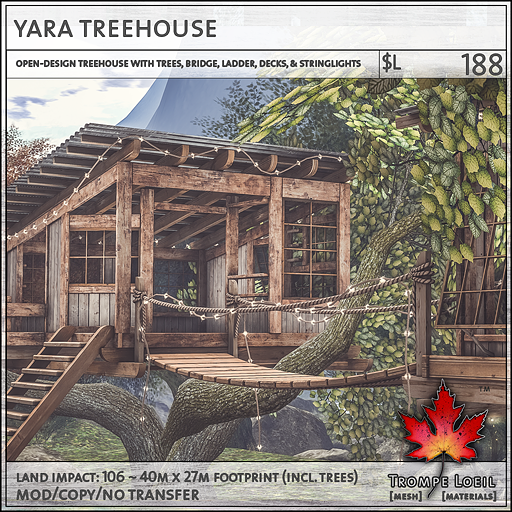 yara treehouse sales L188