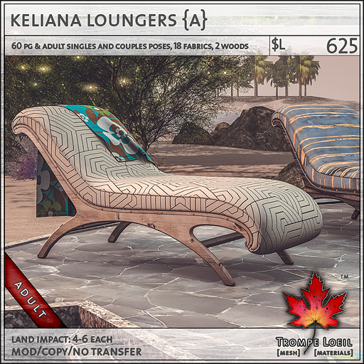 keliana loungers Adult L625