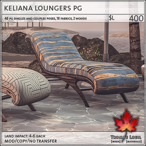 keliana loungers PG L400