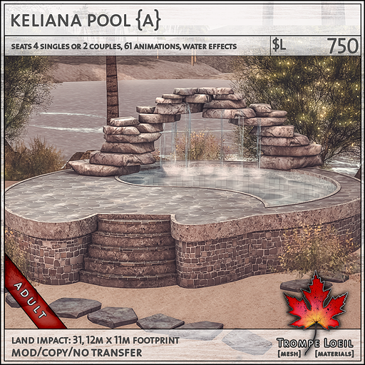 keliana pool Adult L750