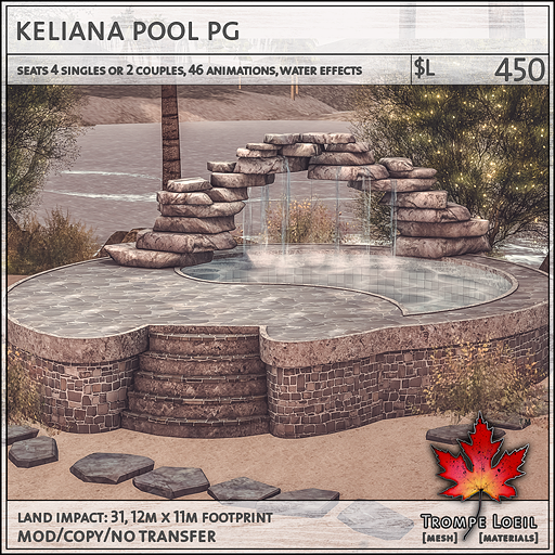 keliana pool PG L450