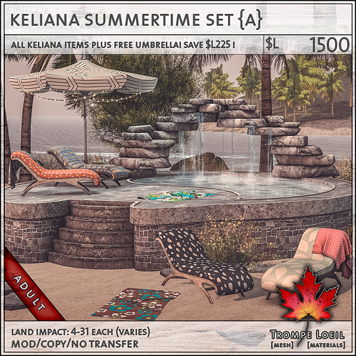 keliana summertime set Adult L1500