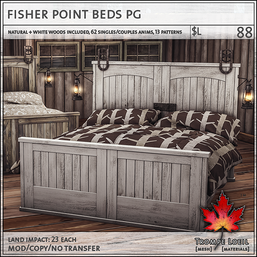 fisher point beds PG L88