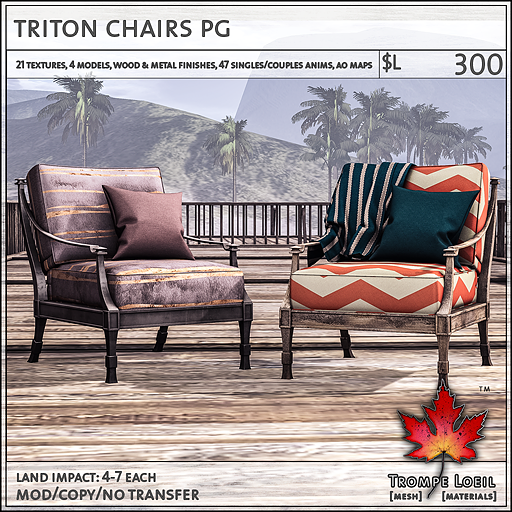 triton chairs PG L300