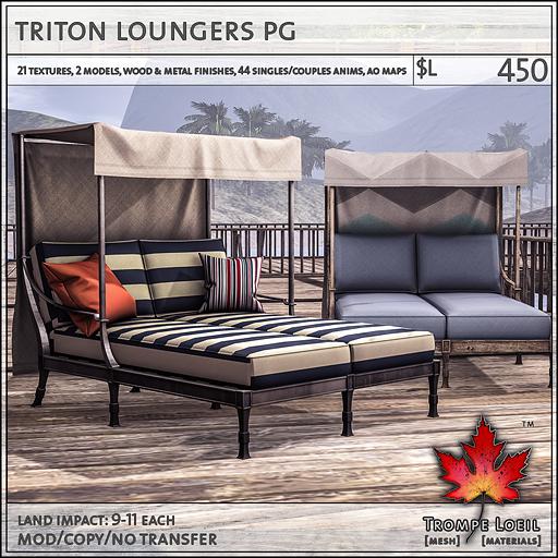 triton loungers PG L450