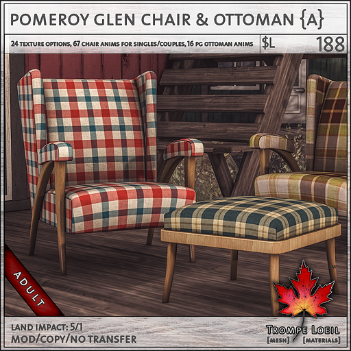 pomeroy glen chair Adult L188