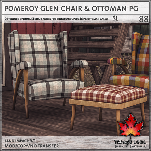 pomeroy glen chair PG L88