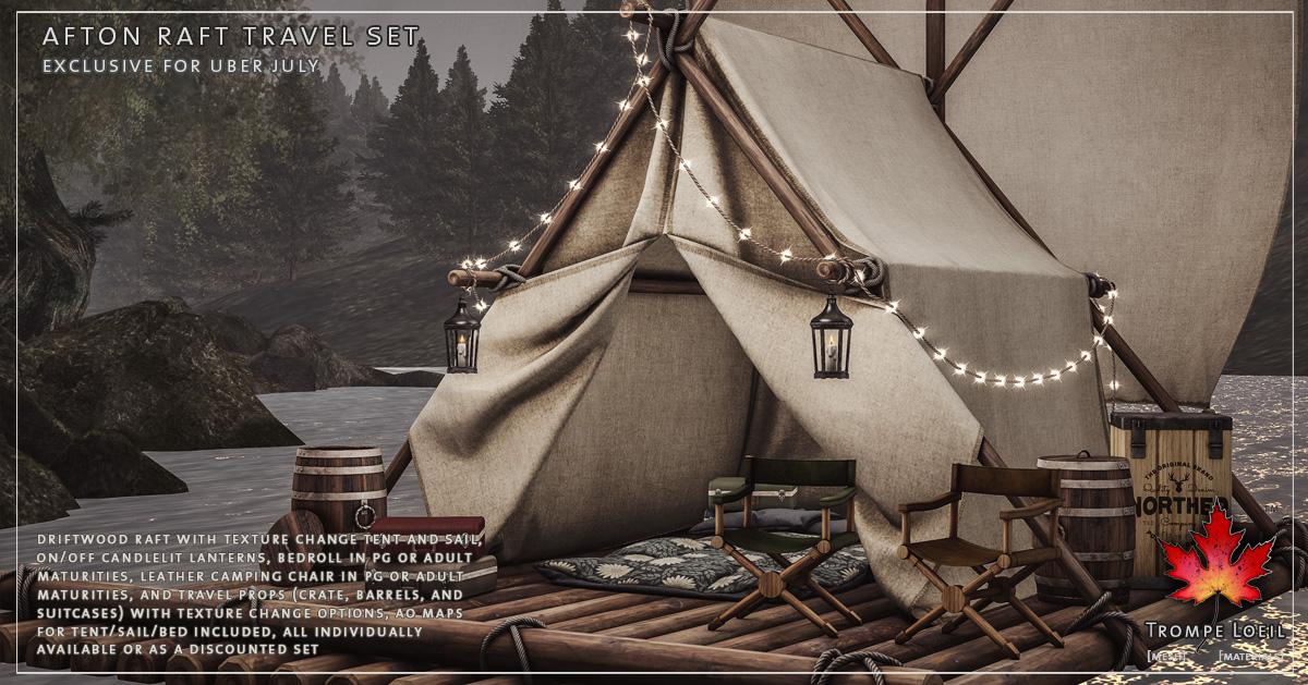 Afton Raft Travel Set – Weekend Sale Aug 27-28