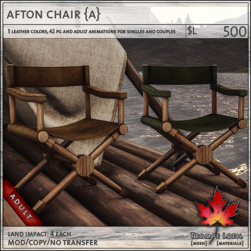 afton chairs Adult L500