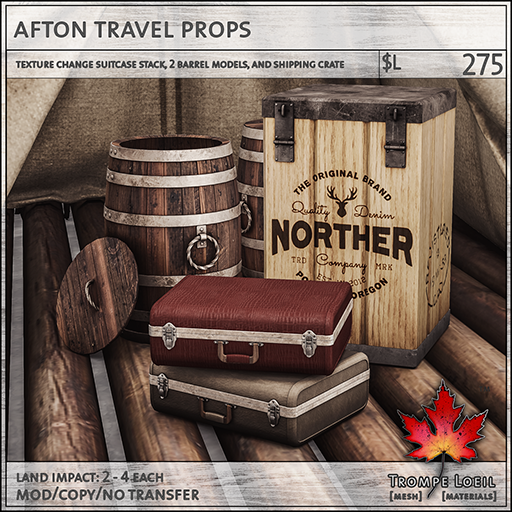 afton travel props L275