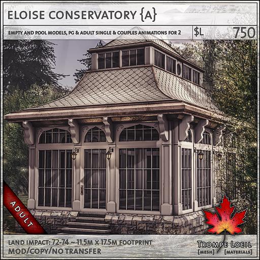 eloise conservatory Adult L750