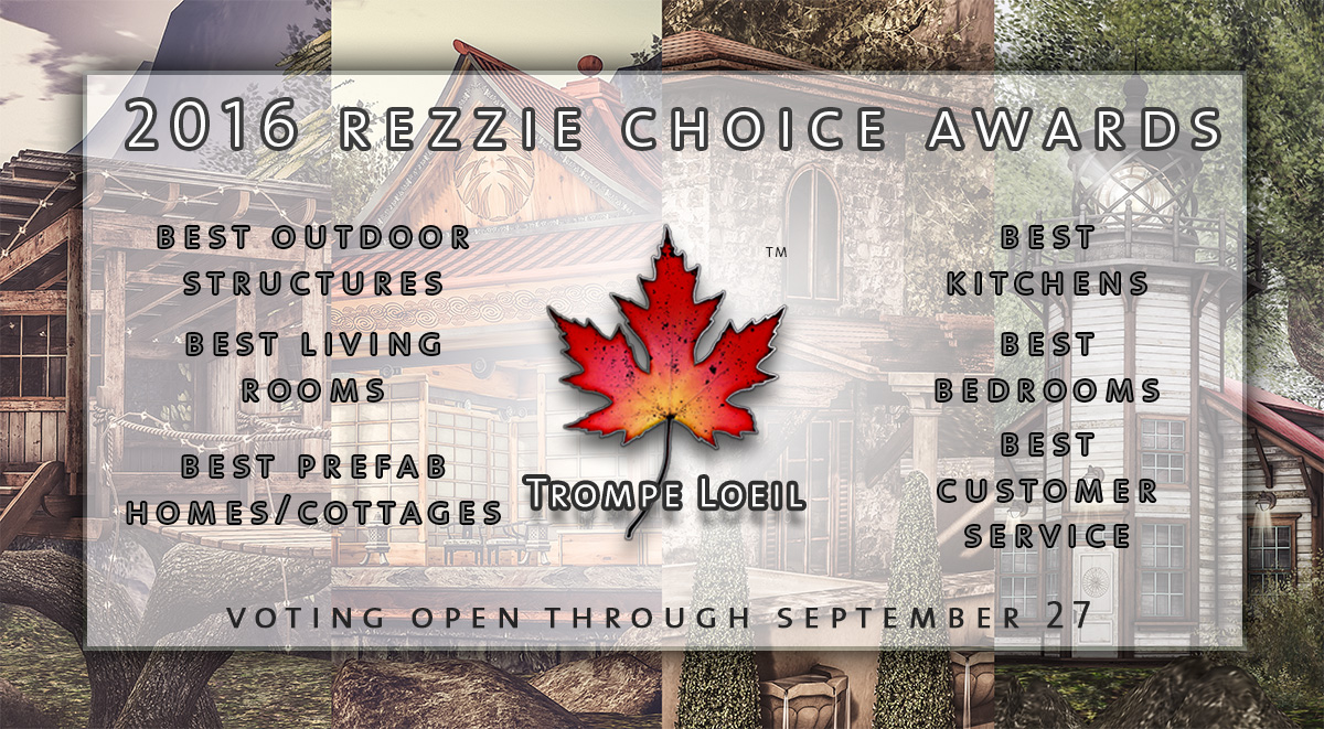 Trompe Loeil nominated for 6 Rezzie Awards – vote through September 27