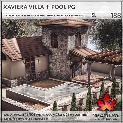 xaviera villa PG sales L188