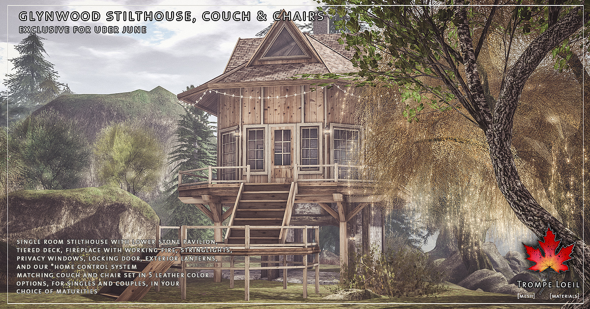 Glynwood Stilthouse, Couch & Chairs for Uber June