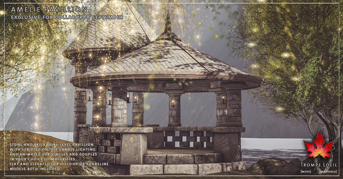Amelie Pavilion for Collabor88 September