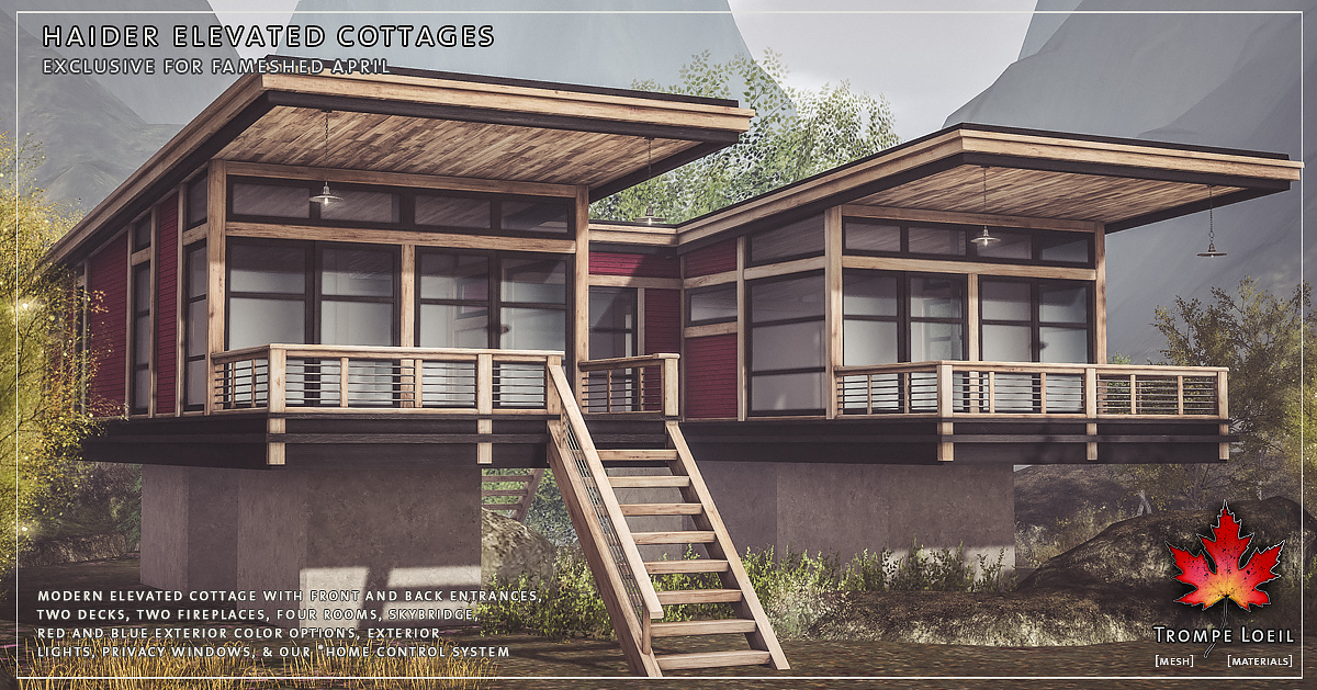 Haider Elevated Cottage for FaMESHed April