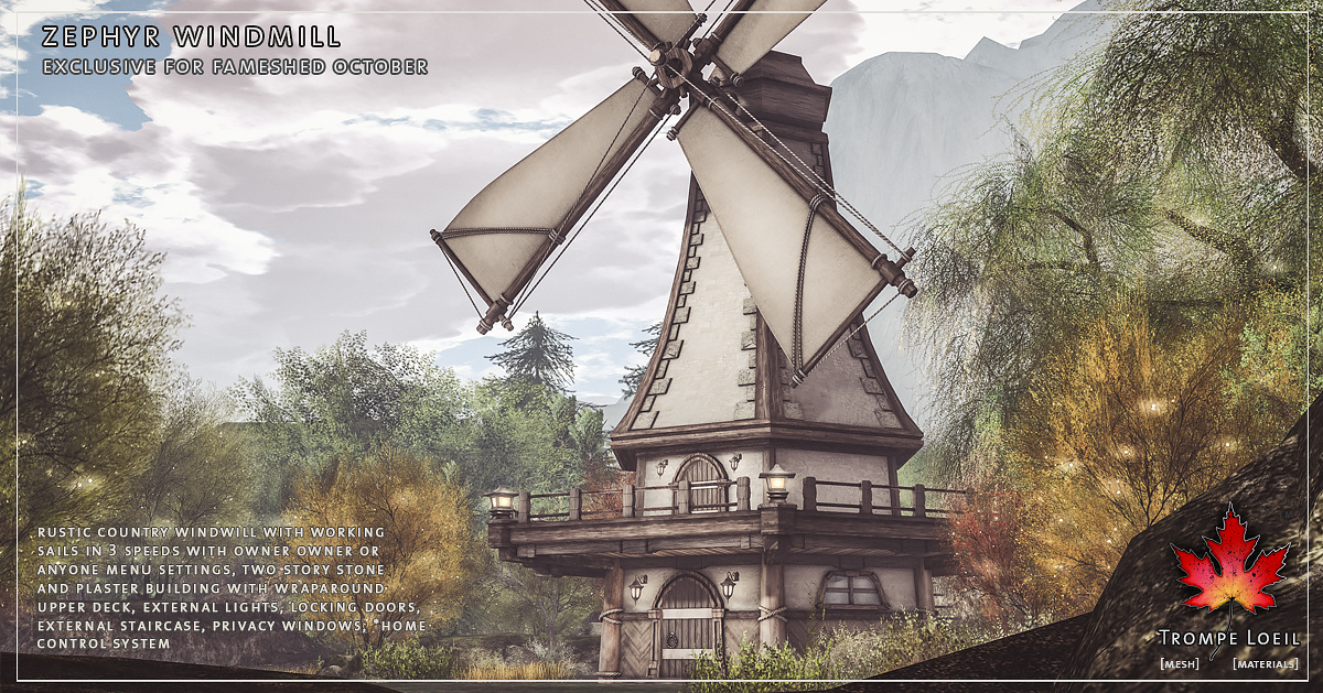 Zephyr Windmill for FaMESHed October
