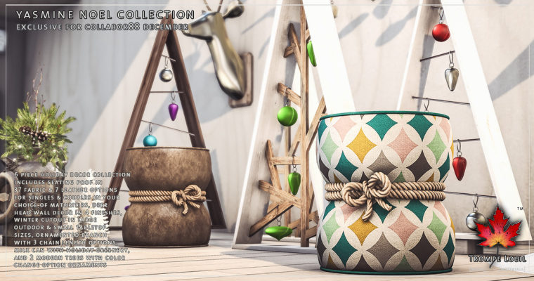 Trompe Loeil – Yasmine Noel Collection for Collabor88 December