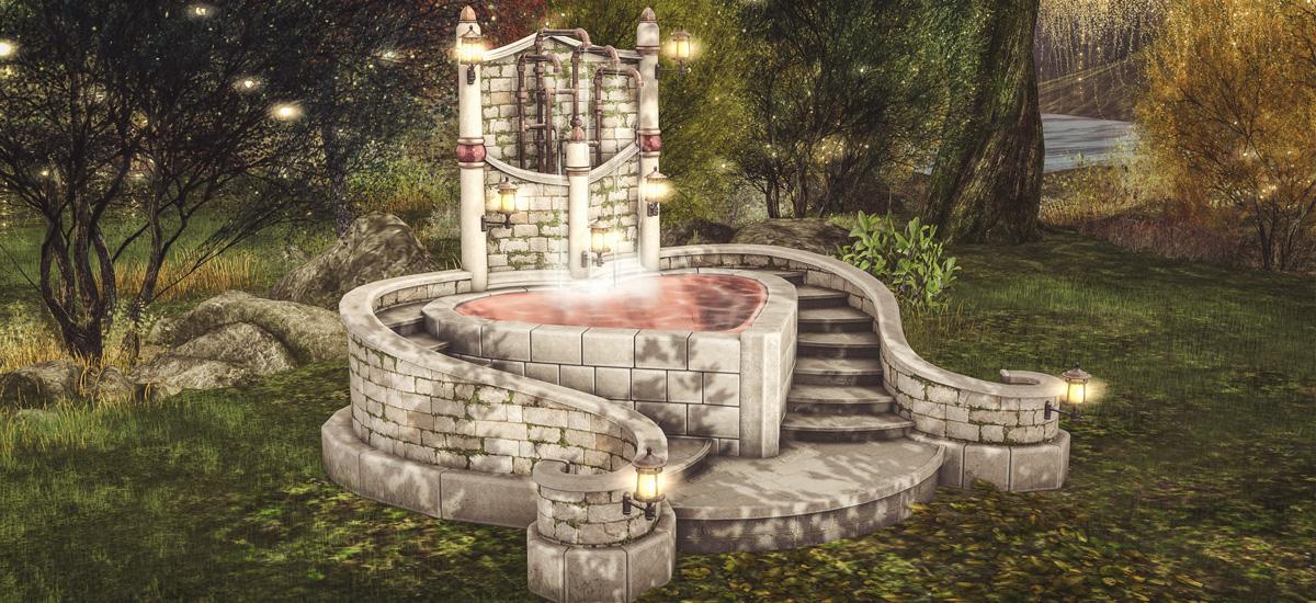 Amorette Bathing Fountain