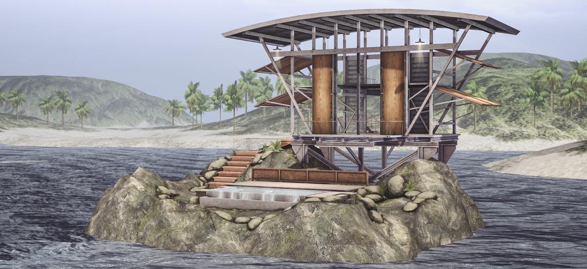 Jonael Island Shack & Loungers