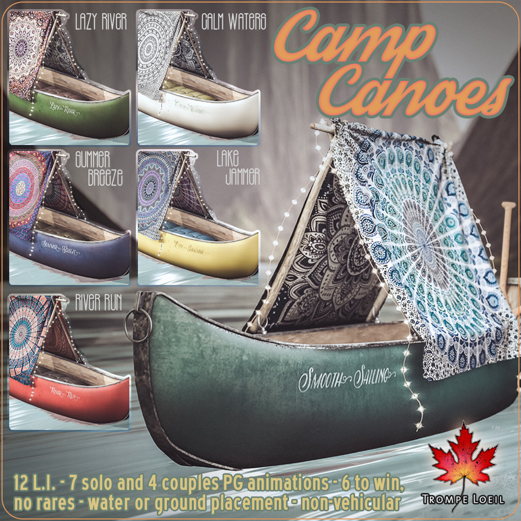 Camp Canoes Gacha for The Arcade June
