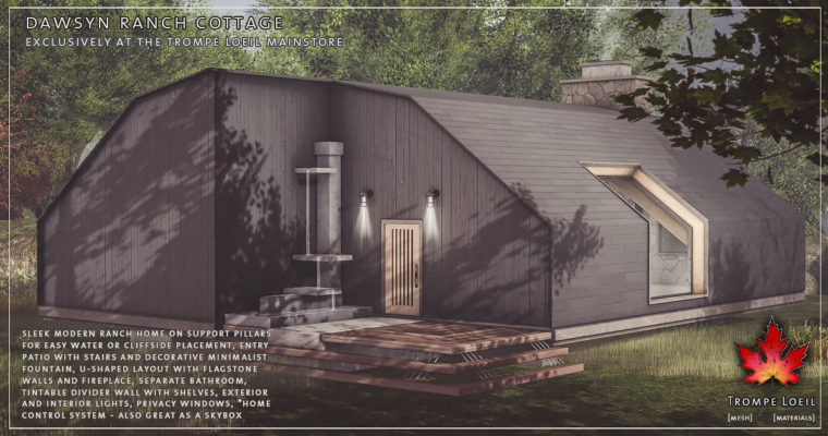 Dawsyn Ranch Cottage – Mainstore exclusive release