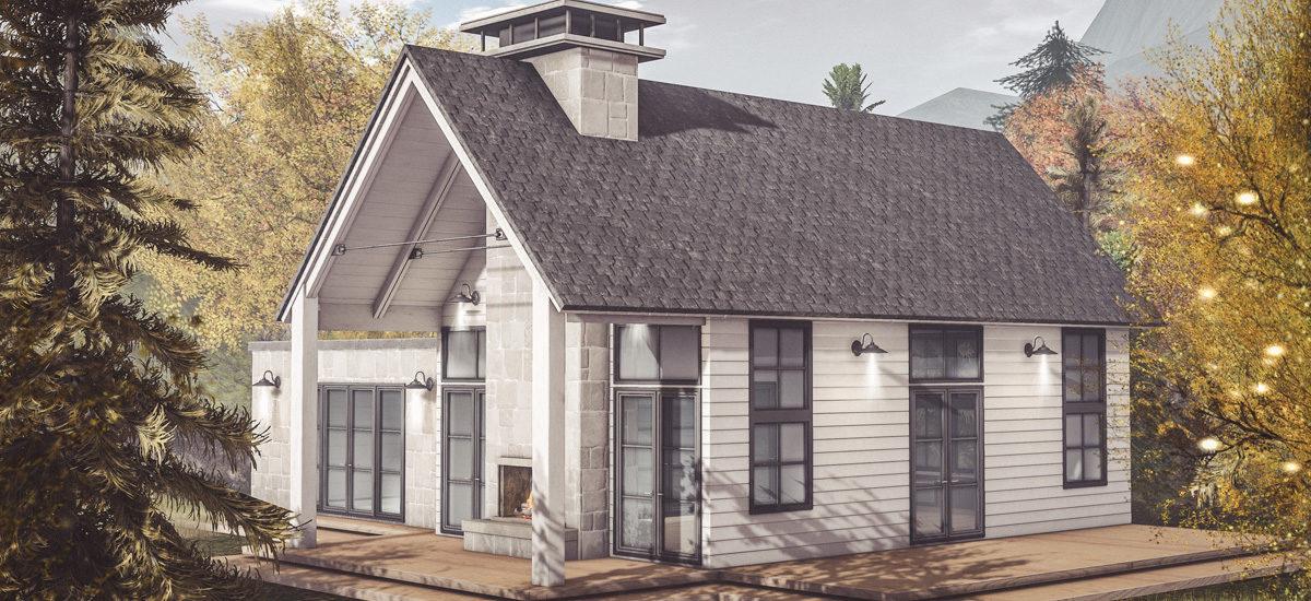 Chloe Modern Farmhouse & Snow Add-On