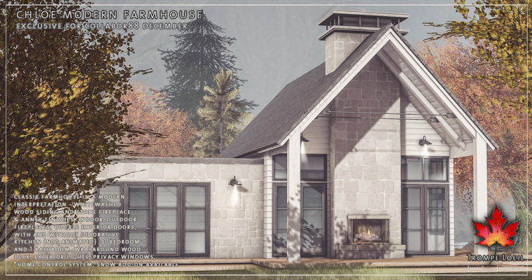 Chloe Modern Farmhouse & Snow Add-On for Collabor88 December