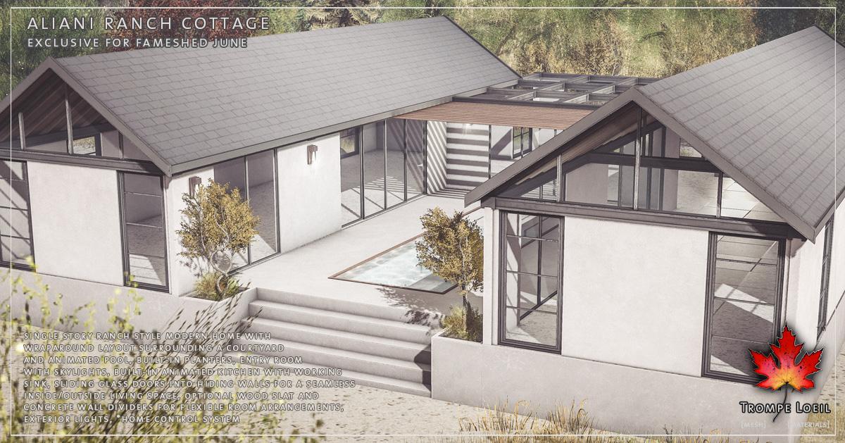 Aliani Ranch Cottage for FaMESHed June
