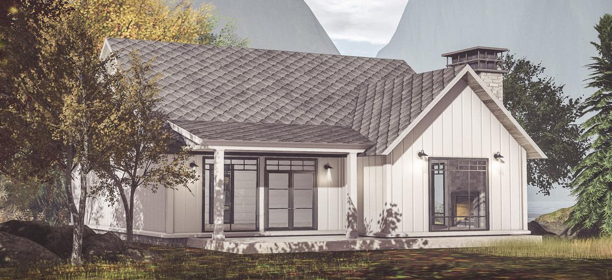 Daria Modern Farmhouse Cottage