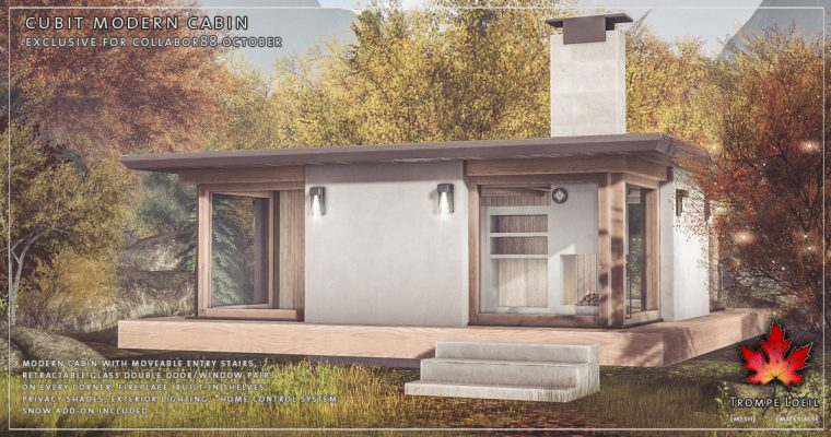 Cubit Modern Cabin & Snow Add-On for Collabor88 October