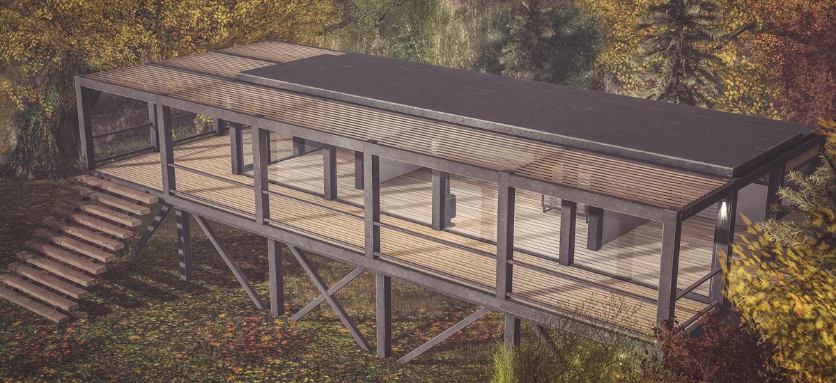 Teja Modern Cabin