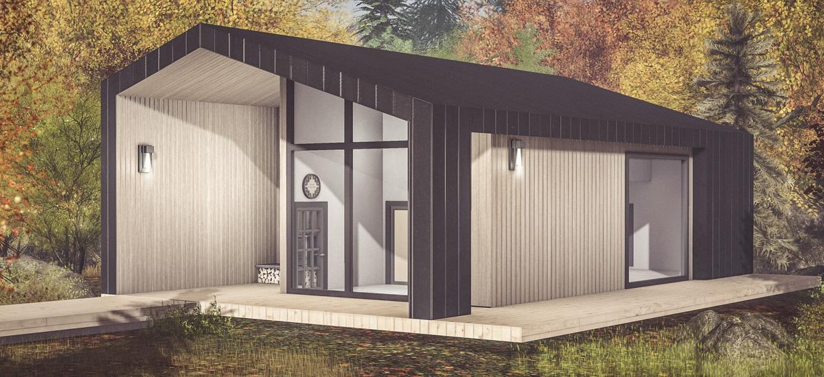Kaavia Modern Cottage