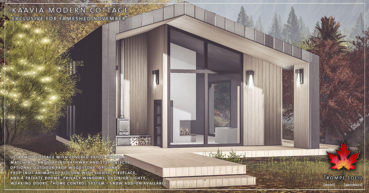 Kaavia Modern Cottage for FaMESHed November