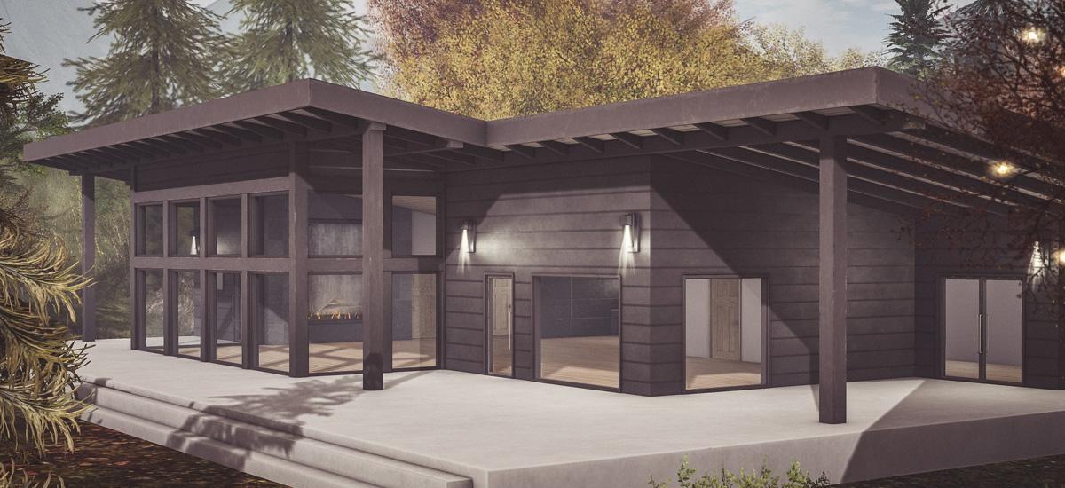 Jona Modern Cabin
